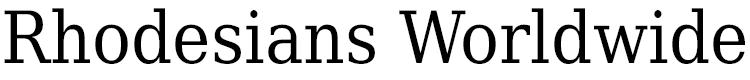 Rhodesians Worldwide Logo