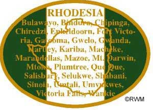 bracelet from rhodesian worldwide for remember rhodesia
